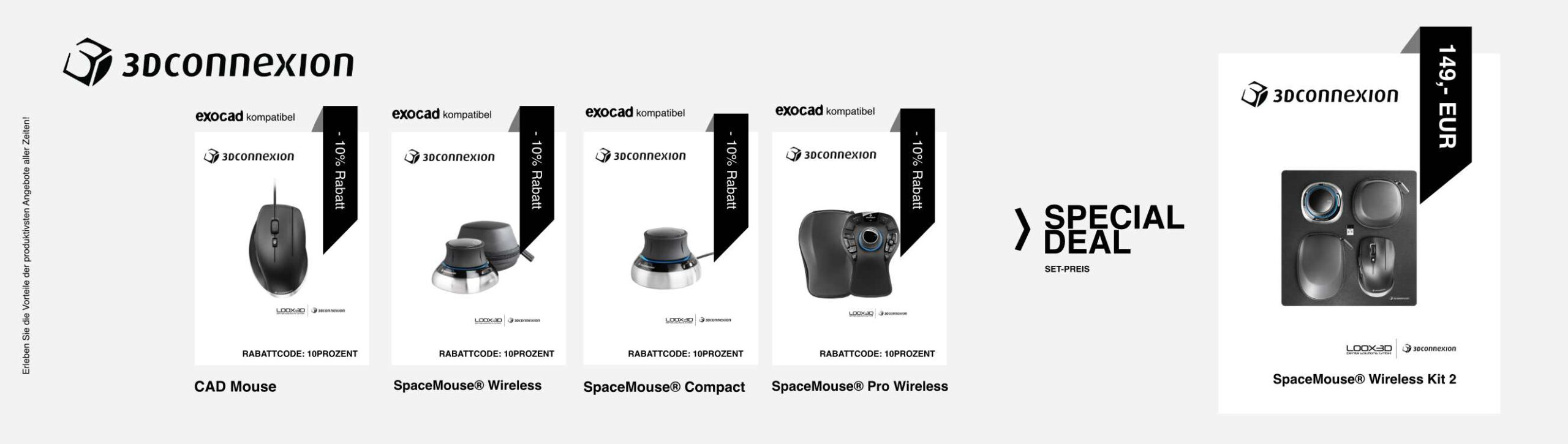 3DConnexion Angebote